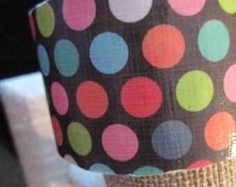 Polka Dots Cuff Bracelet