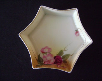 1920's Hand Painted Nippon Dish