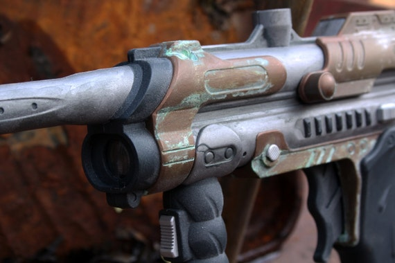 Steampunk Blaster Rifle by IndecentReality steampunk buy now online