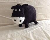 Knitted Cow - Farm Animals - Stuffed Animal - Stuffed Toy