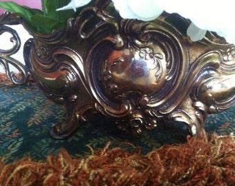 Vintage  Metal Table Decor/SALE 10 OFF