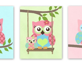 Popular items for owl decor for girls on etsy - Girl owl decor ...