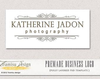 Instant Download Premade Logo or Watermark - Katherine