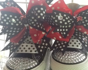 MINNIE MOUSE BLINGALICIOUS High Top Sneakers for your Pretty Princess