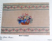 Becky's Basket - Smocking Plate by Laura Jenkins Thompson