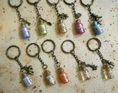 Wizard Potions Key Chain Collection (10 different options)