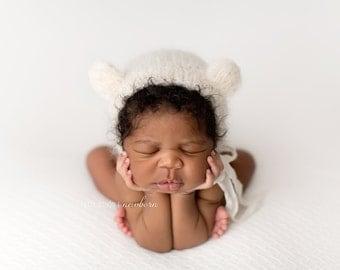 Newborn Photography Fabric Backdrop- Bradley Knit Backdrop -  2 Yards