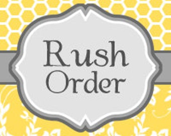 Rush Order Priority Mail Shipping