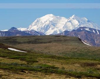 Denali Peaks, Alaska - 8x10 Fine Art Print