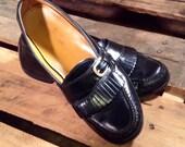 25% OFF // Size 10.5 // EU 44 // Men's Black Leather Dress Shoe by Cole Haan //