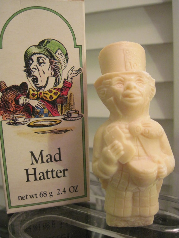 Mad Hatter Alice In Wonderland Soap Collection Crabtree And