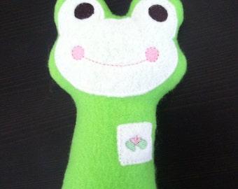 Felt Frog Stuffie