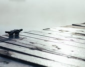 nautical photography, fog, mist, dock, cottage, grey, serene, calm, muted,cool, morning, minmal, cottage,soft, old wood, aged, Secured