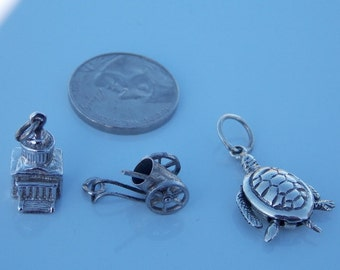 Sale 2 Vintage Sterling Silver Charms
