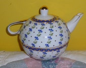 Vintage English Teapot and Cup