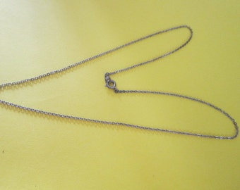 Vintage 18 Inch Chain Necklace Marked NS  Sweet