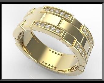 Yellow Gold Diamond Wedding Bands For Women!