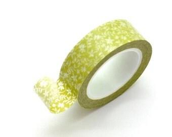 Washi Tape Paper Masking Tape - Green Vine