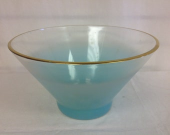 Aqua Blue Blendo Bowl