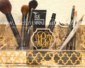 Monogrammed Make-up Organizer