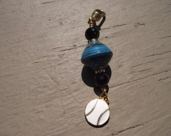 Sport Zipper Pulls or Purse Charms