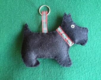 Scottie dog scented decoration
