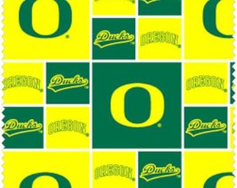 CLOSE OUT SALE University of Oregon Ducks Fabrics