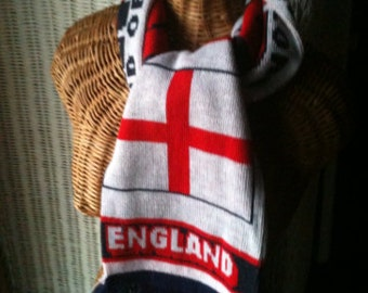 Vintage  England scarf-Land of Hope and Glory