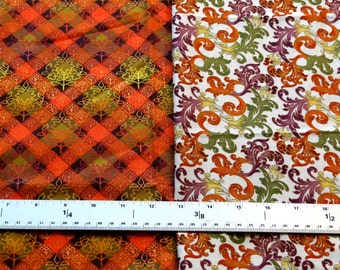 Autumn Bounty & Colors of Autumn by M'Liss Fabrics
