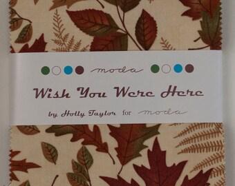 SALE!-Moda Wish You Were Here Charm Pack 6530PP