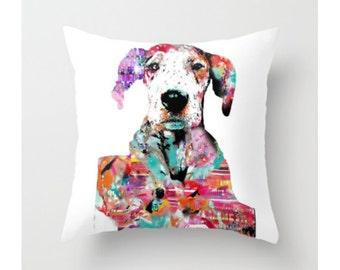 Great Dane Pillow Case || Mila the Dane || Great Dane || Dog Art || Pillow Case