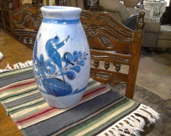 Vintage Tonala Mexico Vase - Large