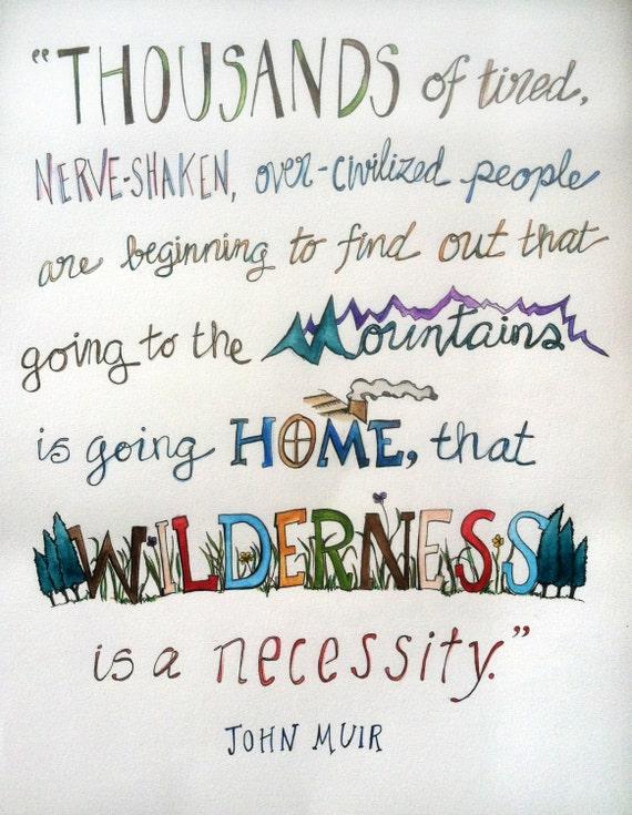 John Muir Mountain Quotes Quotesgram