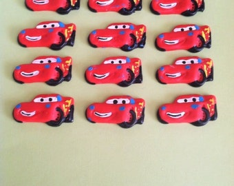 Birthday CARS Theme, Baby Shower CARS Theme Applique, Cake Topper, Cupcake Toppers,
