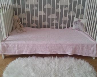 A nice fluffy cloud shaped rug
