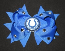 Indianapolis Colts Pro Ribbon Belt - Brown