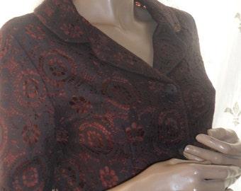 1950s lace jacket