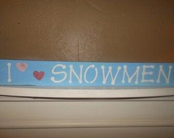 I ( Heart) Snowmen