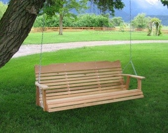 Amish Crafted 5'Cedar  Porch Swing