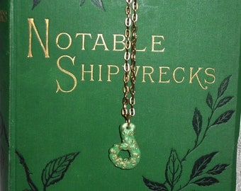 Petite Green Tentacle Necklace