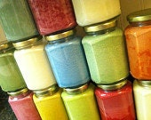 VARIETY PACK -- Pick 4 different scents -- save 10%  - LARGE size (12.6 oz.) Handmade Soy Candles