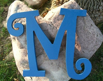 Handpainted Wooden Wall Letters,  Wooden Wall Initials