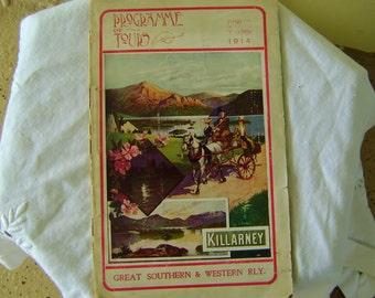 Ireland Edwardian Era Railway Booklet Great Southern Western Tours