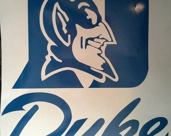 Duke Decals On Etsy A Global Handmade And Vintage