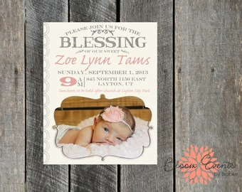 Blessing Announcement