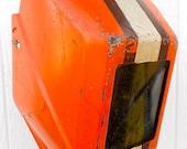 Super cool vintage welding helmet/mask Cleveland Browns fan