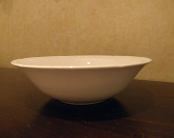 Crooksville China Tall Serving Bowl