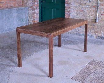 60x30 Edge Walnut Dining Table / Desk