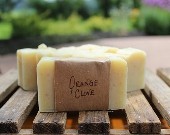 Orange & Clove Soap, 4 oz.