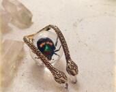 Serpent Hook Ring